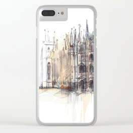Duomo di Milano. Clear iPhone Case
