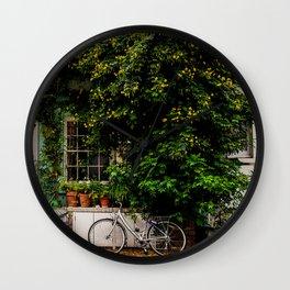 Greens of Notting Hill, London England Wall Clock