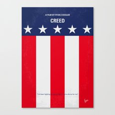 No608 My Creed minimal movie poster Canvas Print