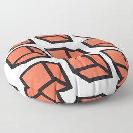 Original Geometric Art Floor Pillow