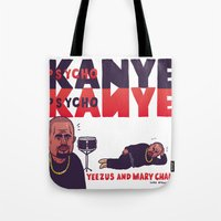 sneaker Tote Bags featuring Sneaker Gaze by Luke McGarry