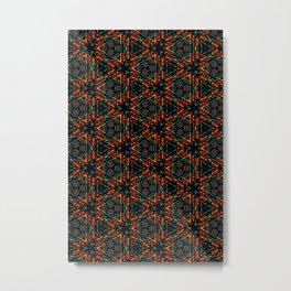 Geometric Lines Metal Print
