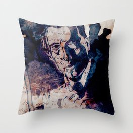 Sherlock Holmes in Latin Throw Pillow