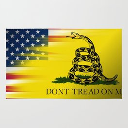 Don't Tread On Me Rug