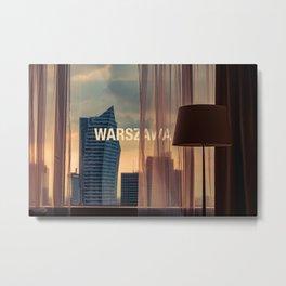 Fabulous Warsaw Metal Print