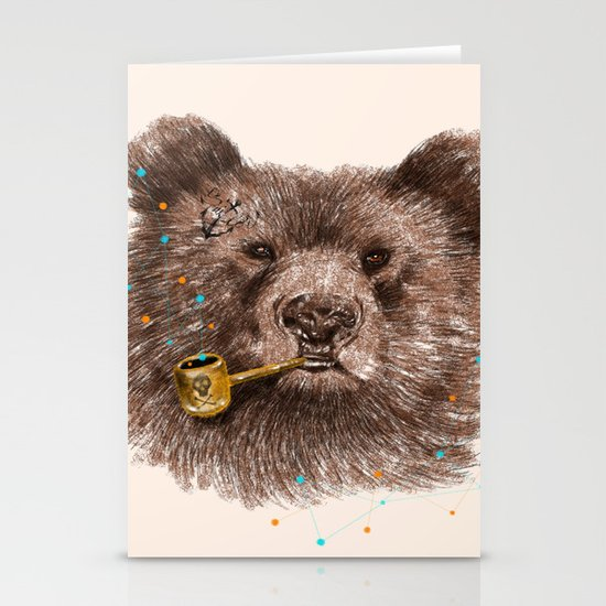 Sailor Bear II Stationery Cards