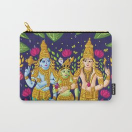 Madurai Meenakshi Sundareshwar Carry-All Pouch