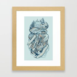 Life & Love at Sea Framed Art Print