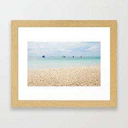 Boracay Bound Framed Art Print