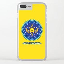 Sun Warrior Clear iPhone Case
