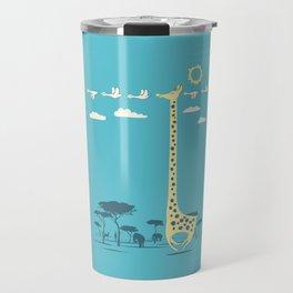 I'm like a bird (blue) Travel Mug
