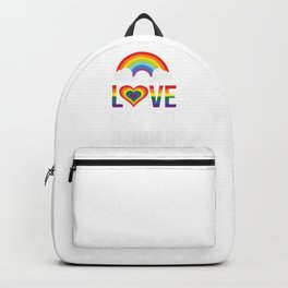Love has no gender Backpack