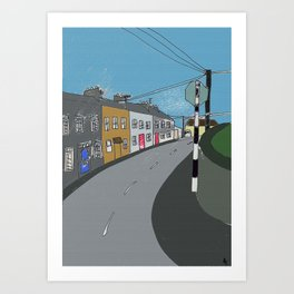 Could be Clarinbridge, co Galway. Art Print