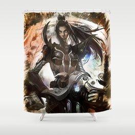 League of Legends PULSEFIRE CAITLYN Shower Curtain