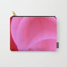 It's Red Rose. Abstract Art. Carry-All Pouch