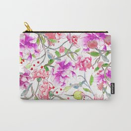 peony pattern Carry-All Pouch