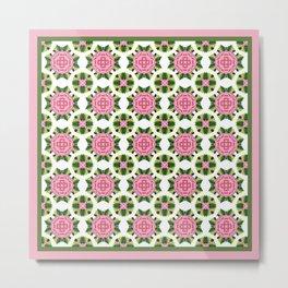 Camellia - Pink 2 Metal Print