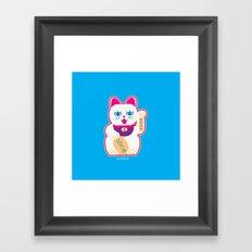 Neko Framed Art Print