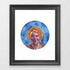 Brulee Brawler Framed Art Print