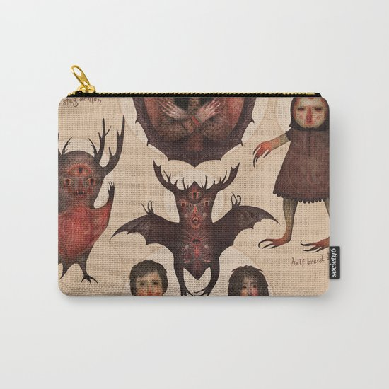 Monsters of the Doomed Village Carry-All Pouch