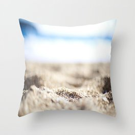 Between Your Toes Throw Pillow