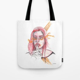 BREATHING I @EdART Tote Bag