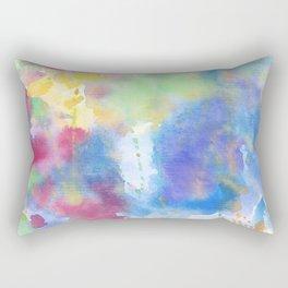 light watercolor Rectangular Pillow
