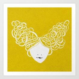 Iconia Girls - Isabella May Art Print
