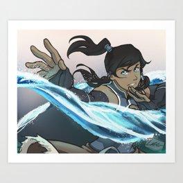 Element: Water Art Print
