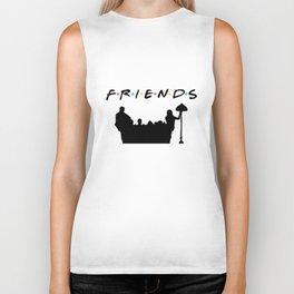 Friends Tv Show Sweater  Friends Women_s Premium Tee Friend Biker Tank