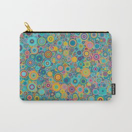 Psychedelic funky Seventies disco party Carry-All Pouch