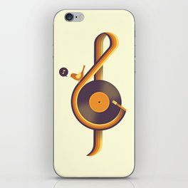Retro Sound iPhone Skin