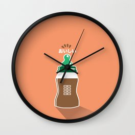 In My Fridge - Chocolate Milk Wall Clock
