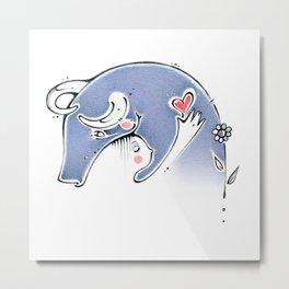 go vegan,vegan, love, heart, corazon Metal Print