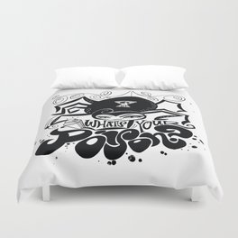 What's Your Poison? Duvet Cover