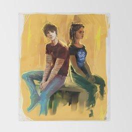 Jordan Kyle & Maia Roberts Throw Blanket