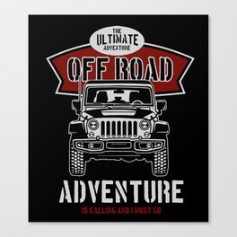 the ultimate off road Canvas Print