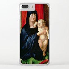 Albrecht Durer - Madonna And Child Clear iPhone Case