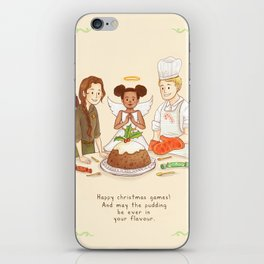 Happy Christmas Games iPhone Skin