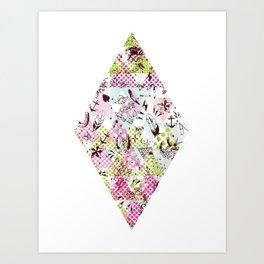 DIAMOND TATTOO Art Print