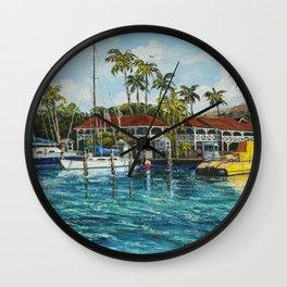Reef Dancer Wall Clock