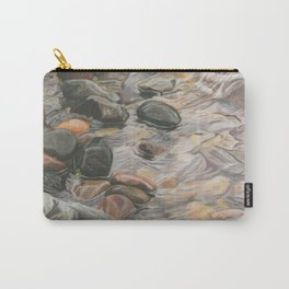 Rocks in the Lake Carry-All Pouch