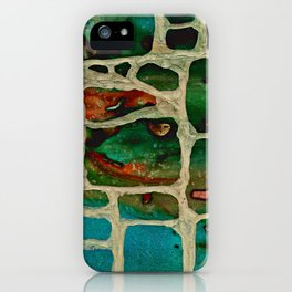 Block Wall iPhone Case