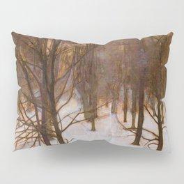 Sondermarken Park In Winter - Digital Remastered Edition Pillow Sham