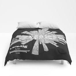 Leipzig Map Comforters