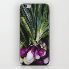 Red Onions in the Garden iPhone & iPod Skin