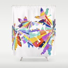 Italian Flower Shower Curtain