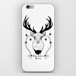 Merry christmas my deers iPhone Skin