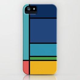 The Colors of / Mondrian Series - Ponyo- Miyazaki iPhone Case