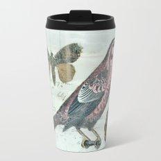 Vintage boho and bird Travel Mug